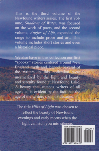 Hills of Light Back Cover